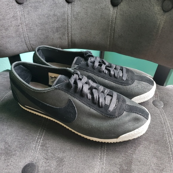 huge selection of 8a58e d9905 Nike Cortez '72 Black/Metallic Pewter/White Suede